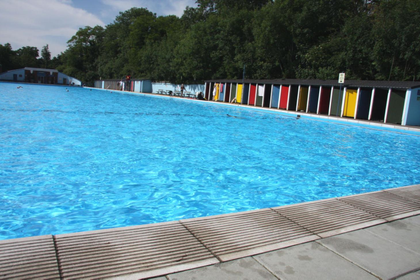 Tooting Bec Lido Outdoor swimming pool