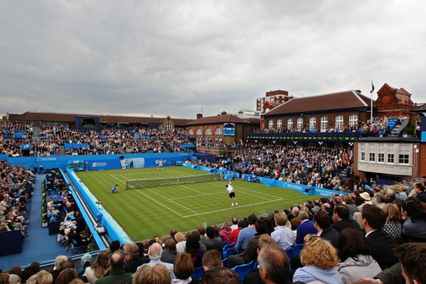 Queens Tennis Club Indoor tennis court