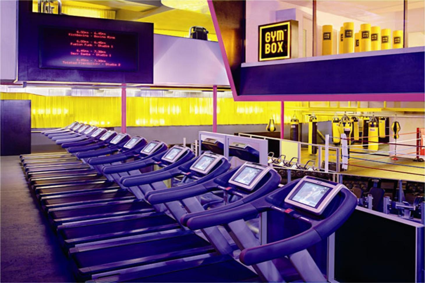 Gymbox Holborn Gym gym