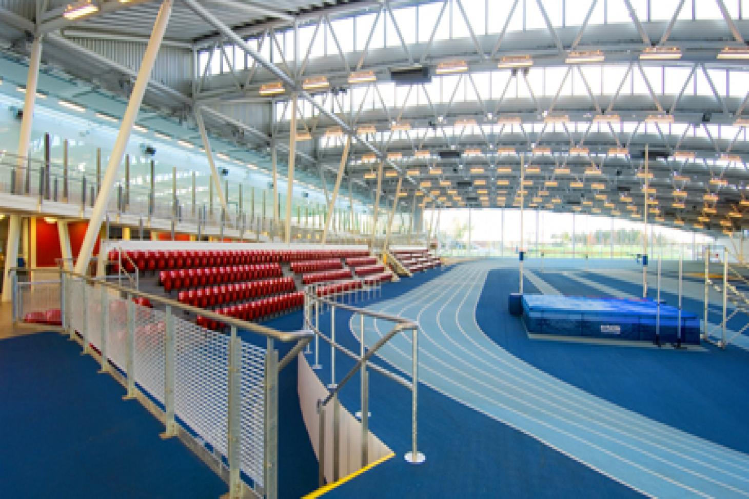 Lee Valley Athletics Centre (Indoor) Indoor athletics track
