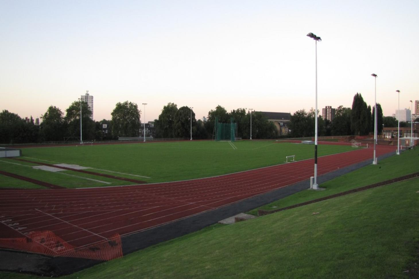 Parliament Hill Outdoor | Synthetic rubber athletics track