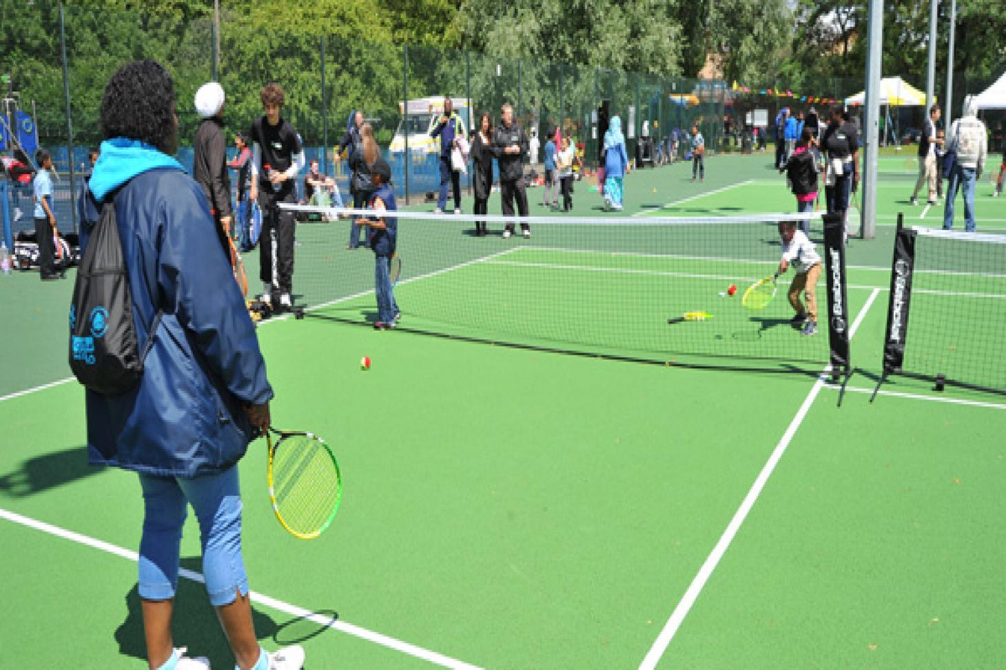 Bethnal Green Gardens Outdoor | Hard (macadam) tennis court