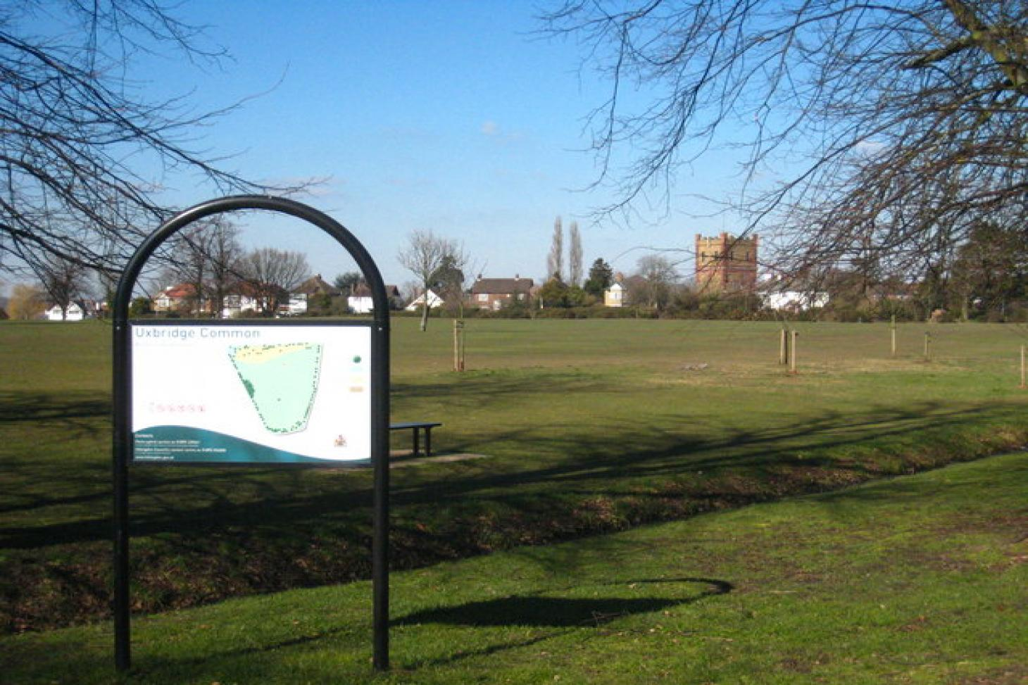 Rockingham Recreation Ground 5 a side   Grass football pitch
