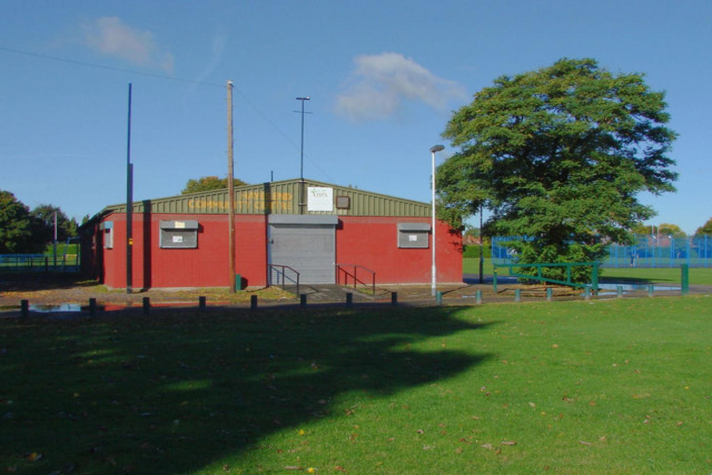 Hayes End Recreation Ground 5 a side   Concrete football pitch