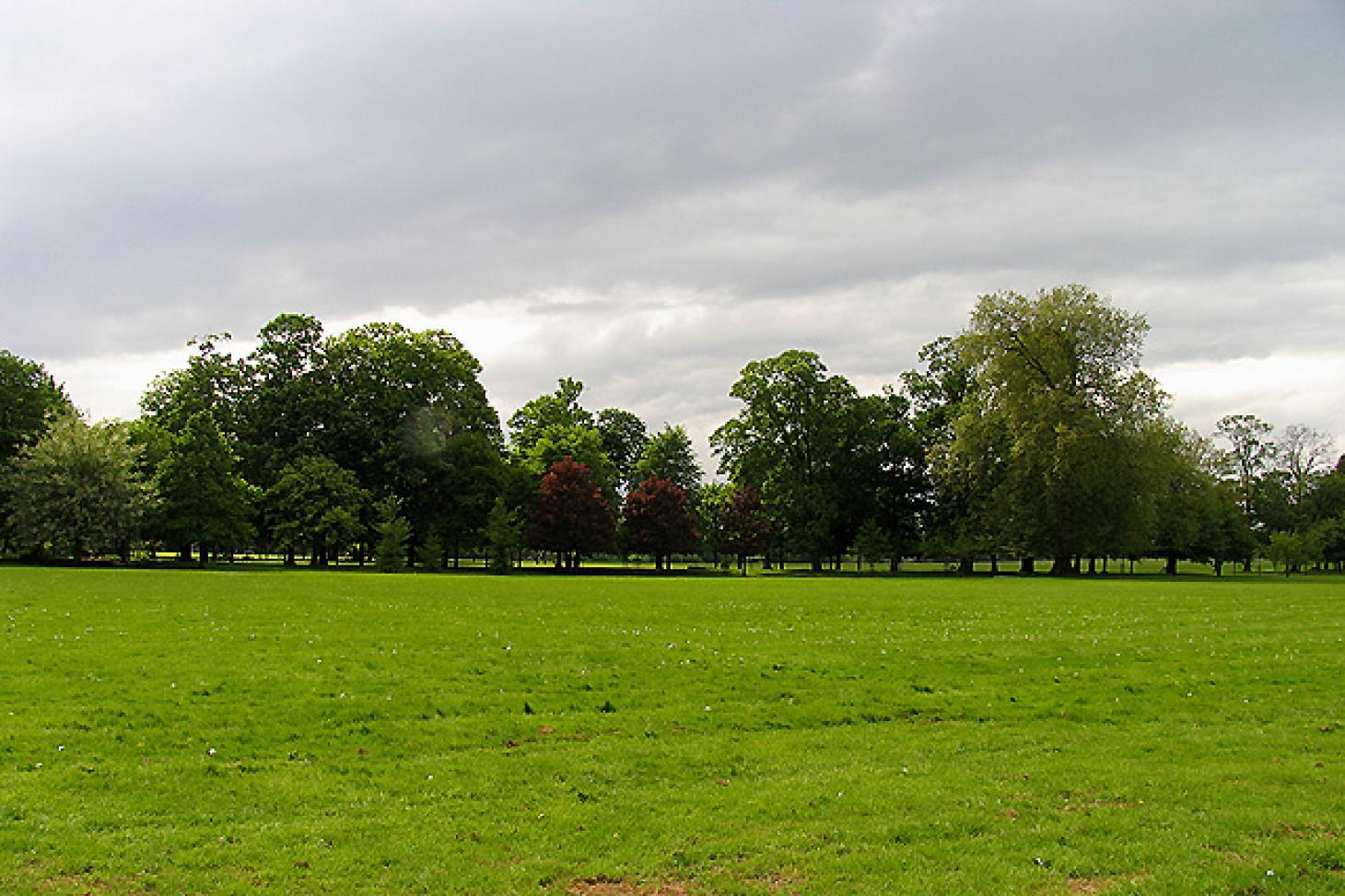 Gunnersbury Park Union rugby pitch