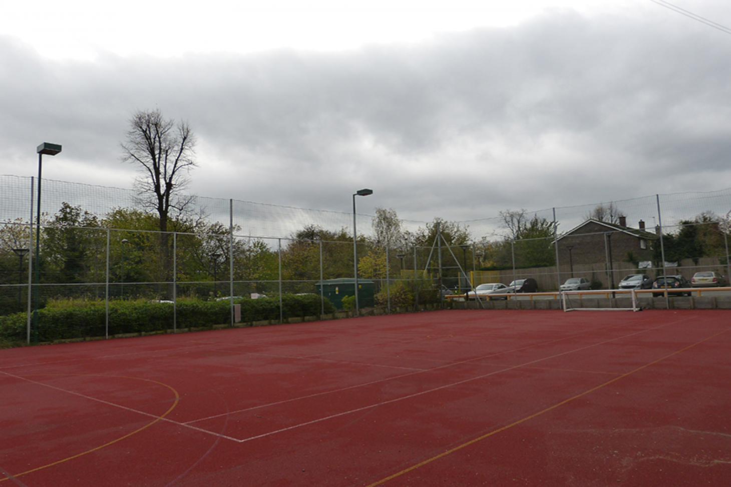 Sutton Life Centre 5 a side | Concrete football pitch