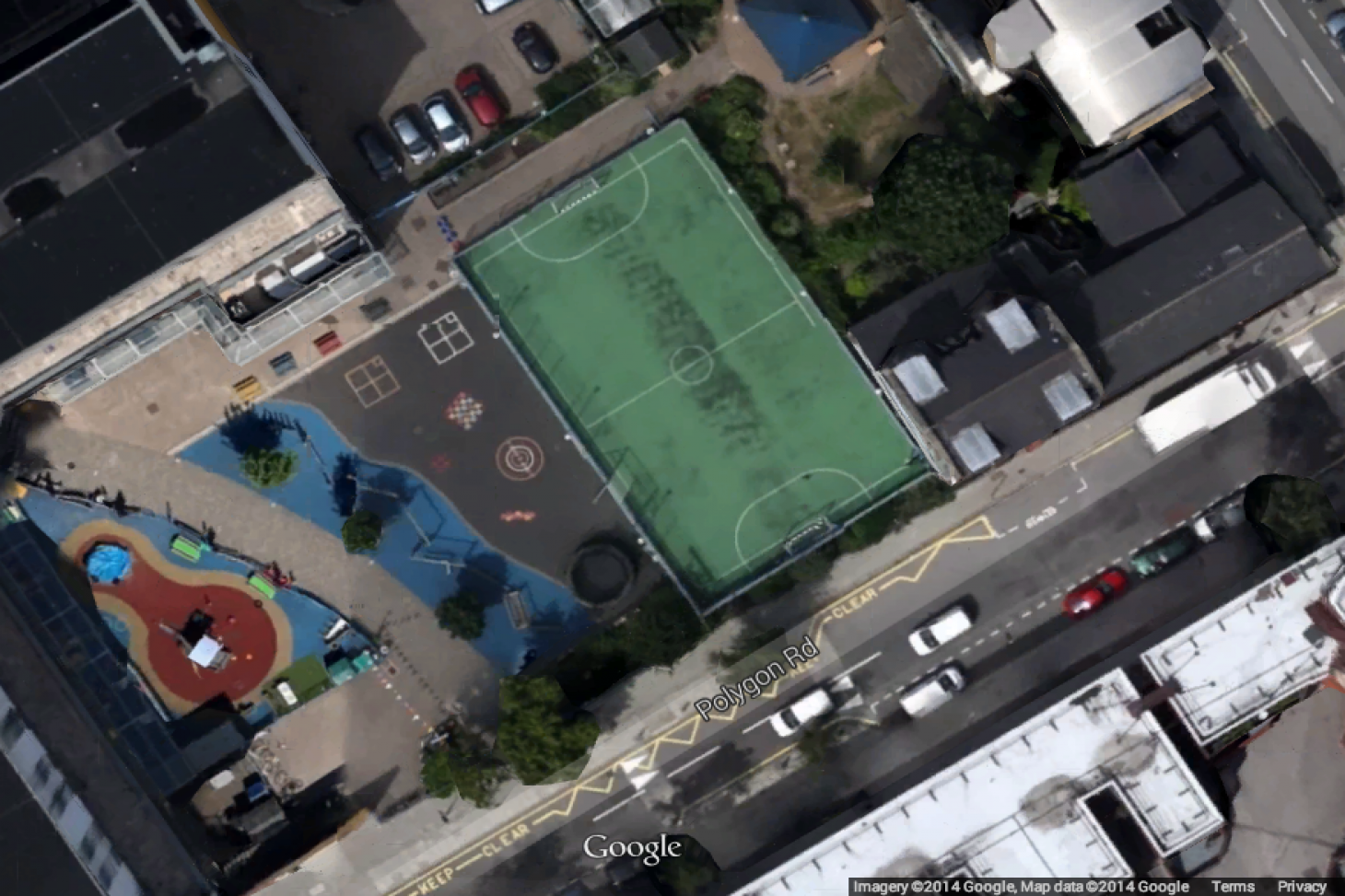 St Mary and St Pancras Church of England Primary School Facilities Hire 5 a side | Astroturf football pitch
