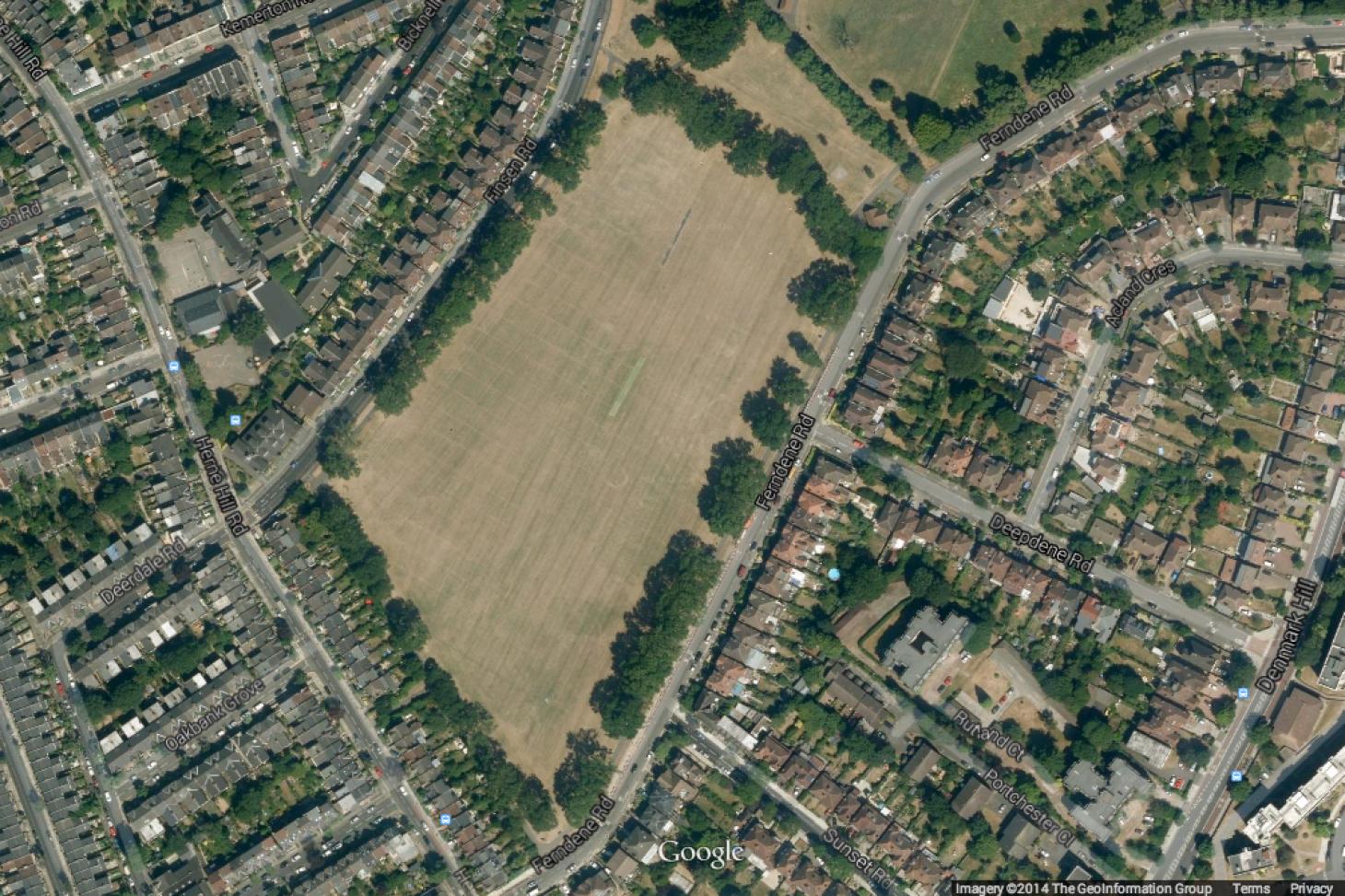 Ruskin Park 11 a side | Grass football pitch