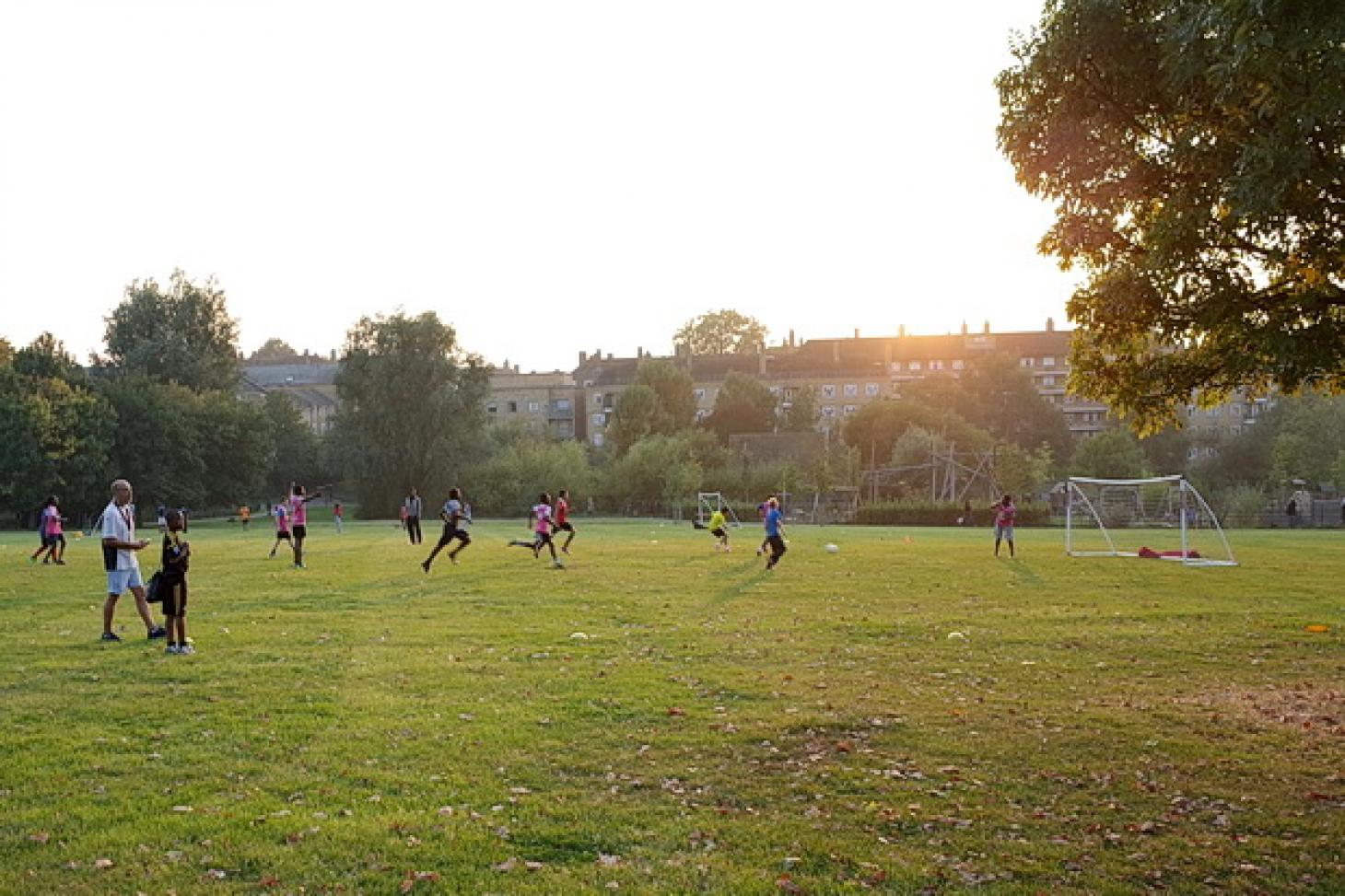 Brockwell Park 11 a side | Grass football pitch