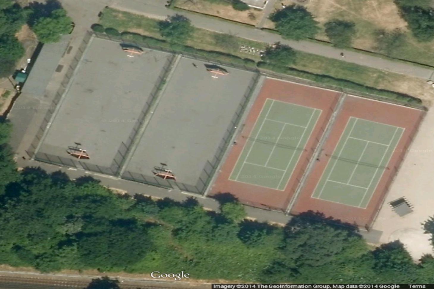 Hillside Gardens 5 a side | Concrete football pitch