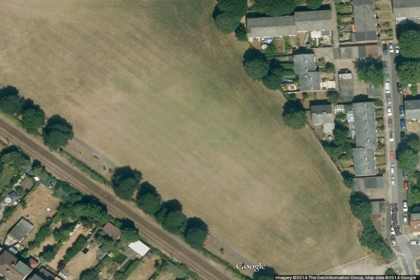 Nursery Road Playing Fields 11 a side | Grass football pitch