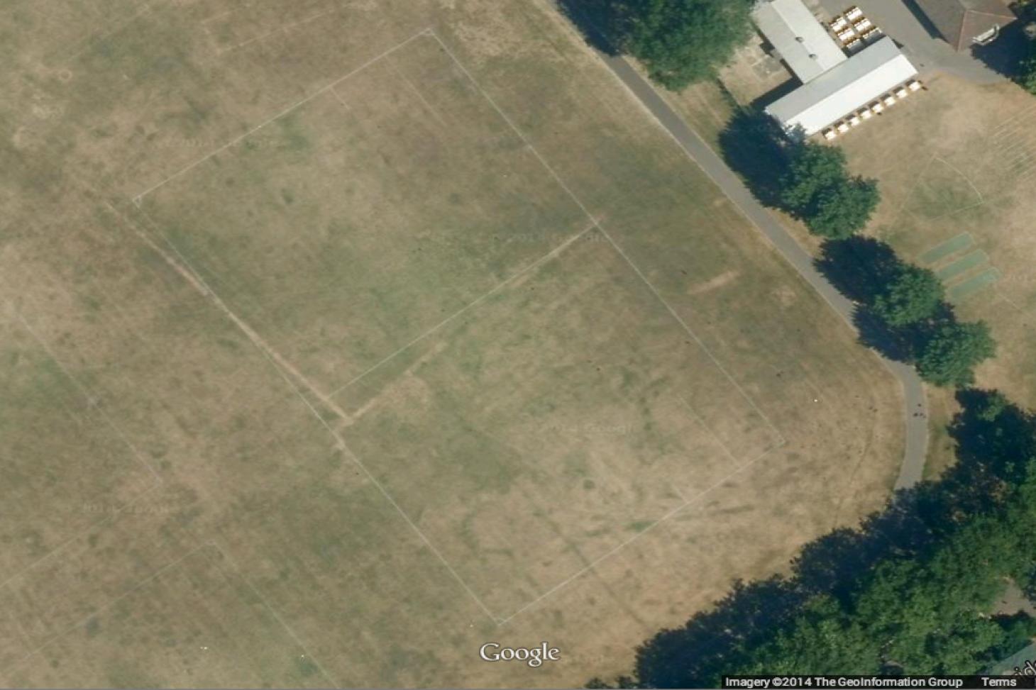 Barking Park 11 a side   Grass football pitch