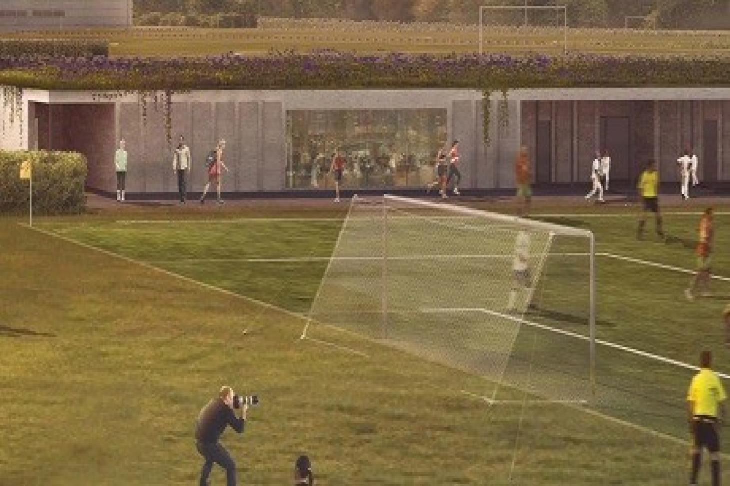 Warren Farm 11 a side | Grass football pitch