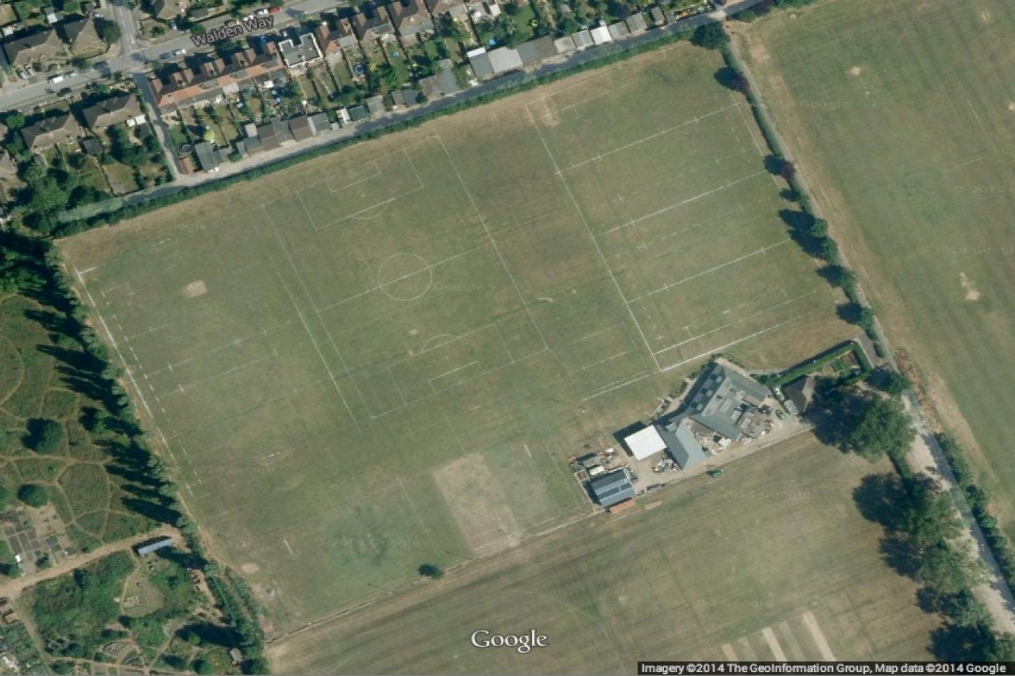 Fairlop Oak Playing Field 11 a side | Grass football pitch