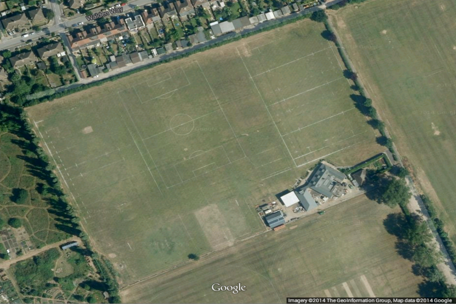 Fairlop Oak Playing Field 5 a side | Grass football pitch