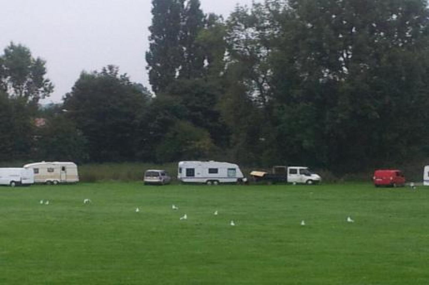 Churchfields Recreation Ground (Kingston) 11 a side | Grass football pitch