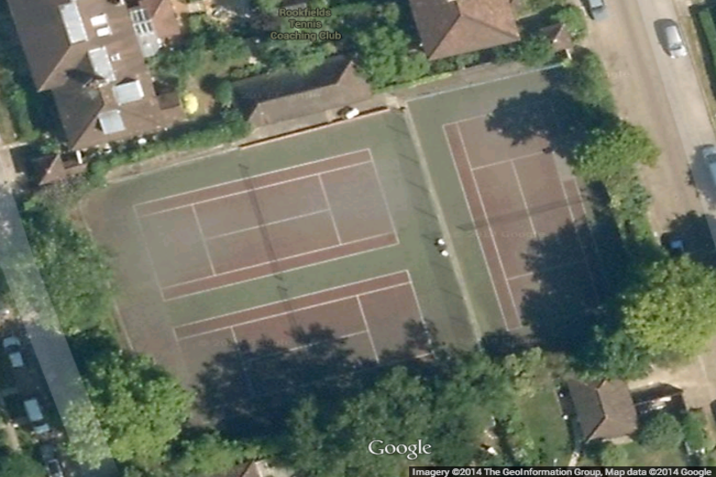 Rookfield Tennis Courts Outdoor | Concrete tennis court