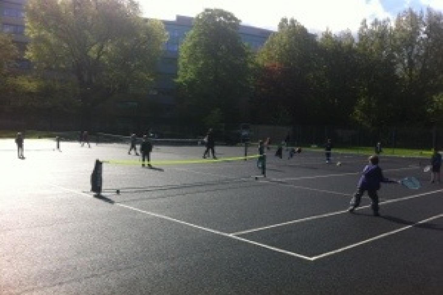 Ladywell Fields Outdoor | Hard (macadam) tennis court