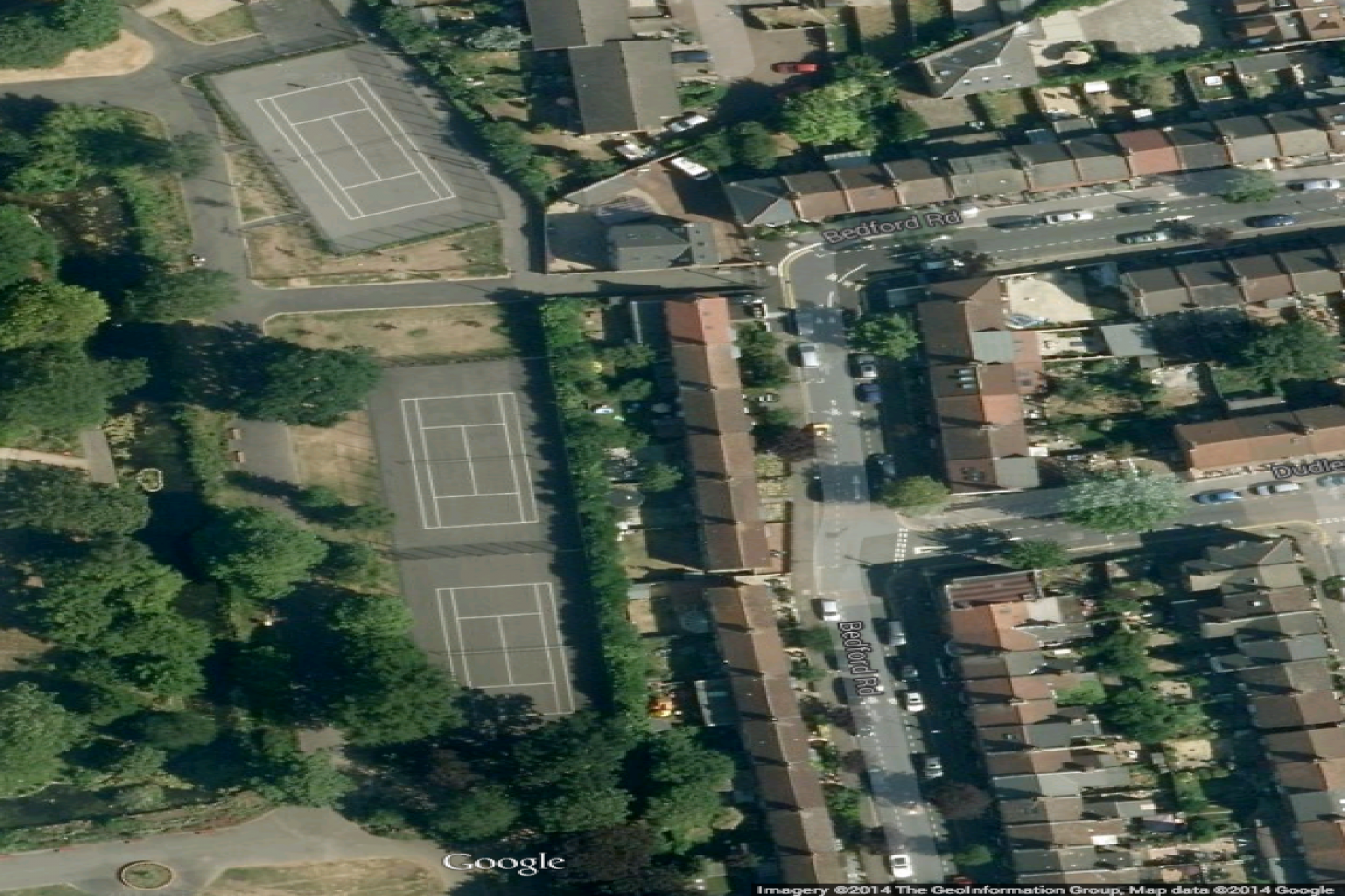 Lloyd and Aveling Park Outdoor | Hard (macadam) tennis court