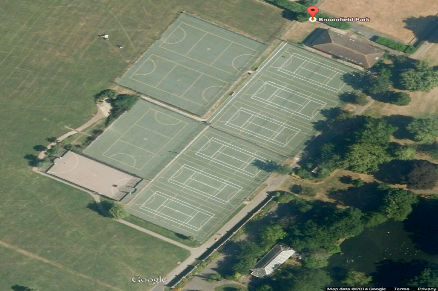 Broomfield Park Outdoor | Hard (macadam) tennis court