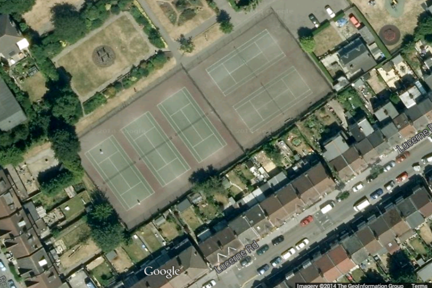 Trumble Gardens Outdoor | Hard (macadam) tennis court