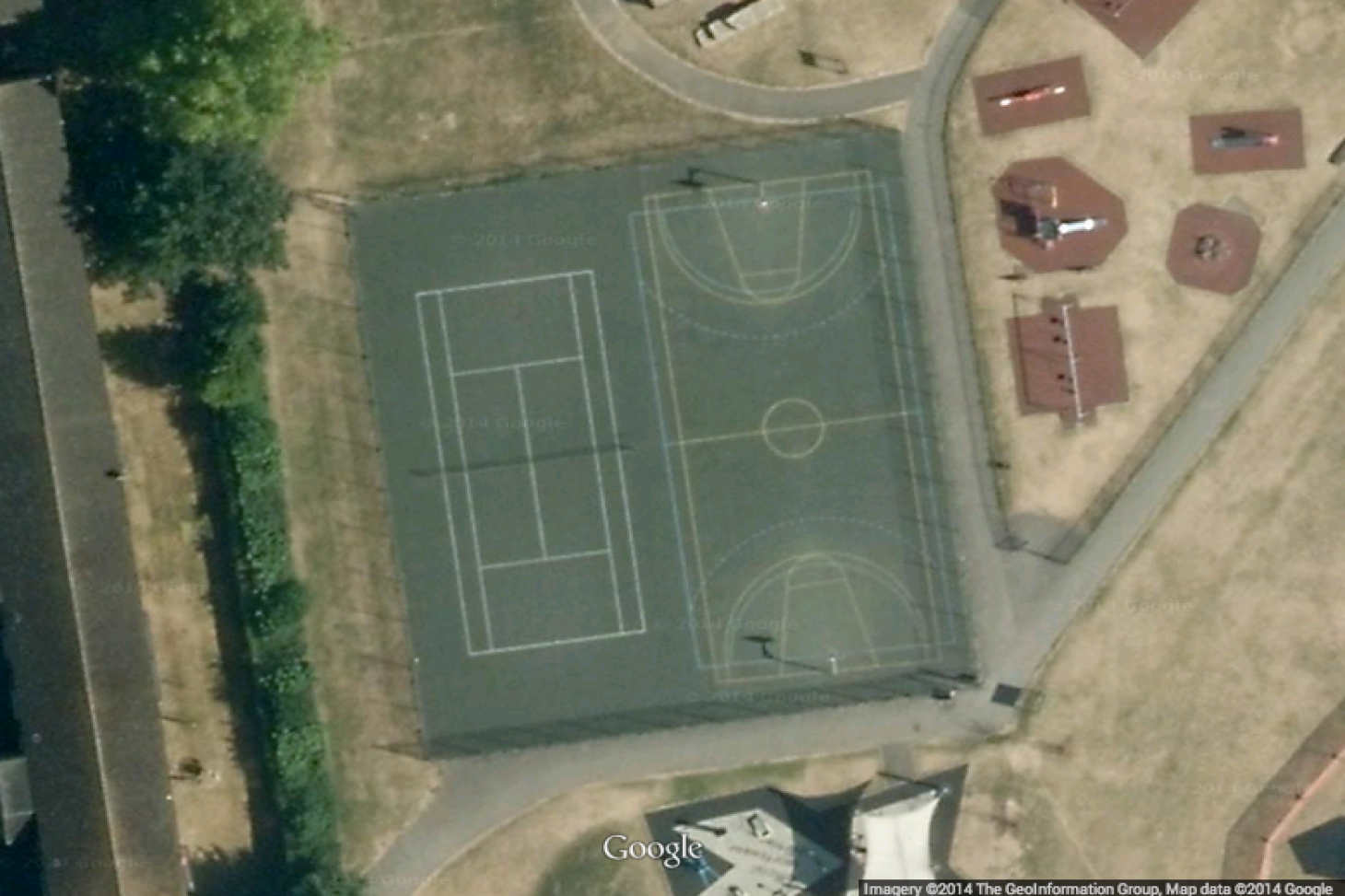 Ponders End Recreation Ground Outdoor | Hard (macadam) tennis court