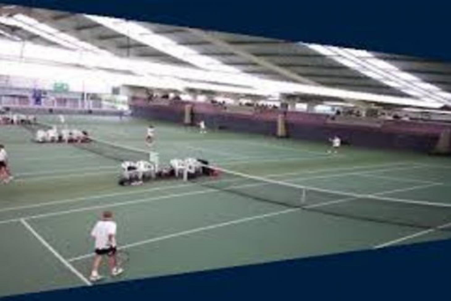 Redbridge Sports Centre Indoor tennis court