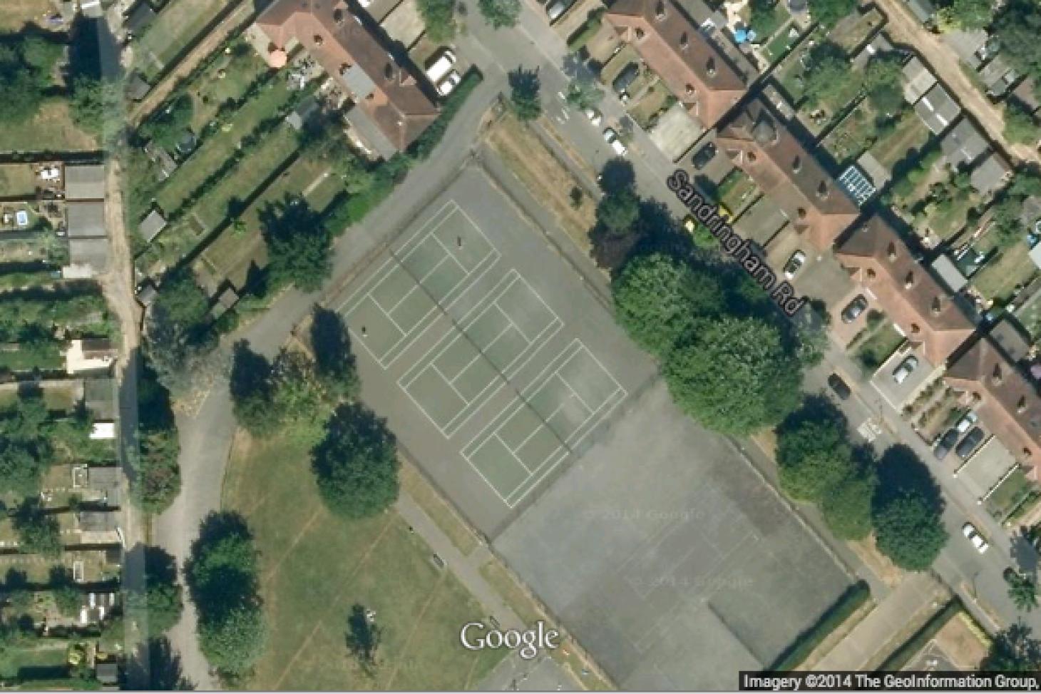 Cuddington Recreation Ground Outdoor | Hard (macadam) tennis court