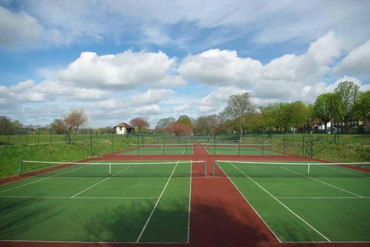 Raphael Park Tennis Courts Outdoor | Hard (macadam) tennis court