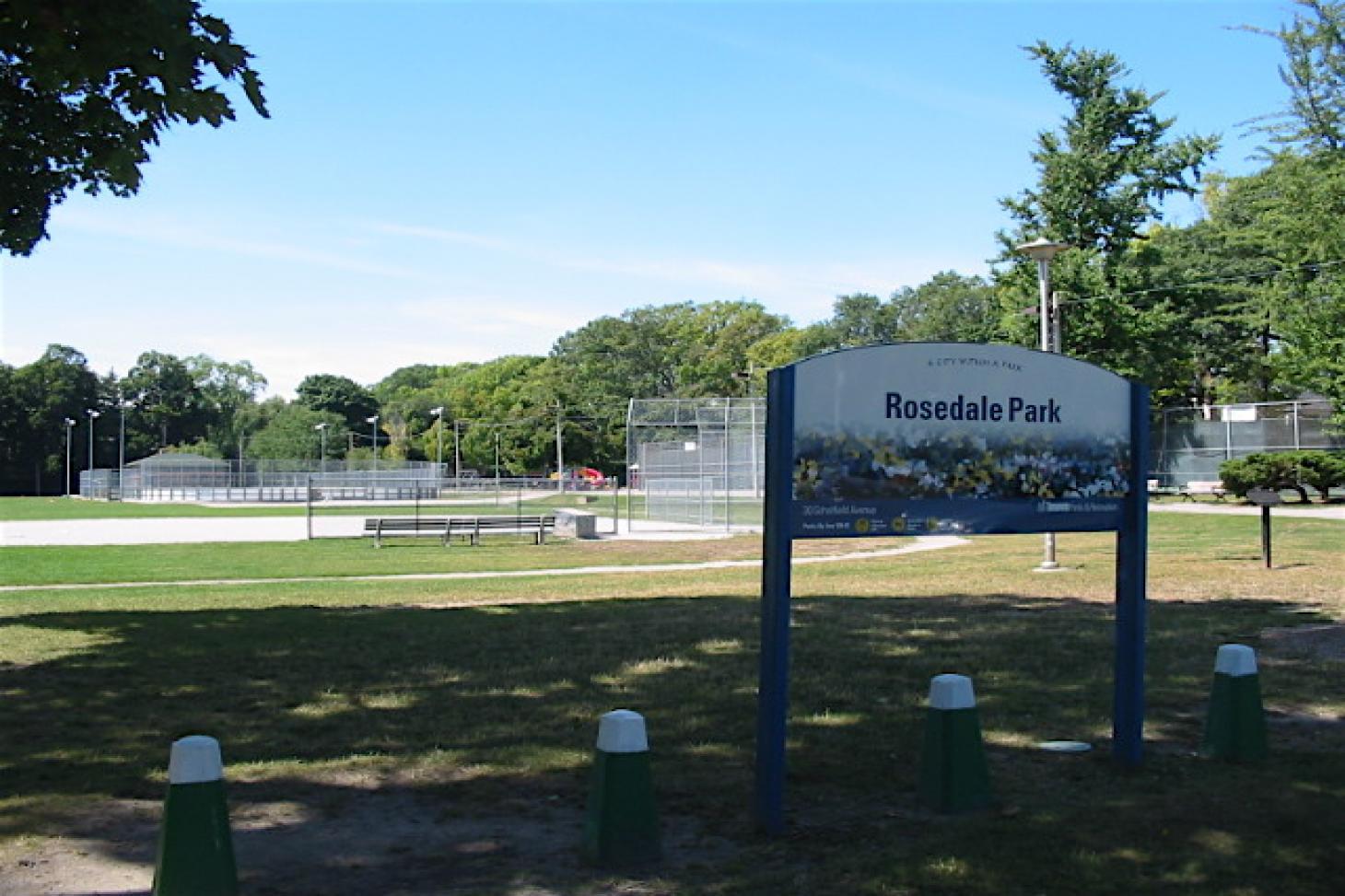 Rosedale Park Outdoor   Hard (macadam) tennis court