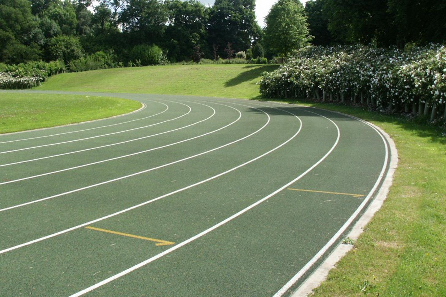 The Japanese School Track Outdoor | Artificial athletics track