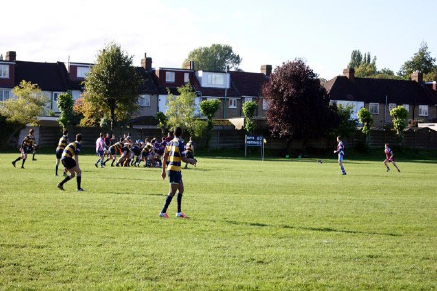 Honour Oak Park Union rugby pitch