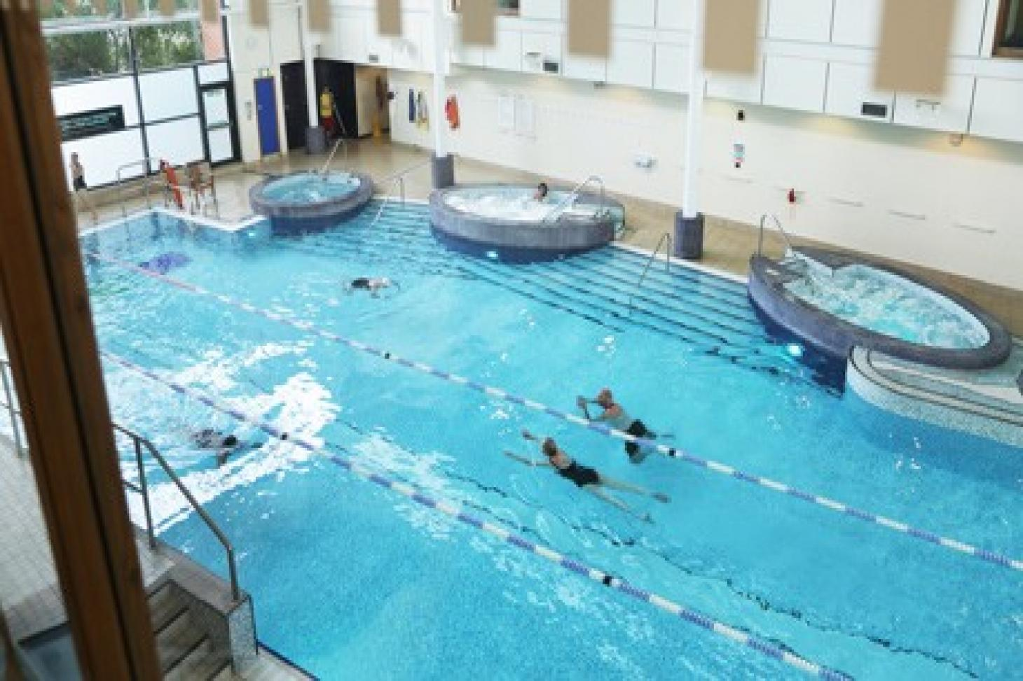 Nuffield Health Fitness & Wellbeing City Indoor swimming pool