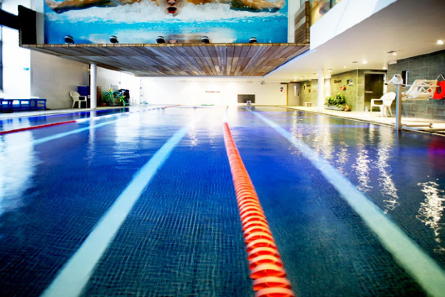 LA Fitness Marylebone Indoor swimming pool