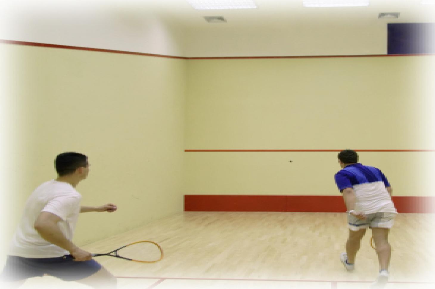 Croydon Gas Sports Club Indoor | Hard squash court