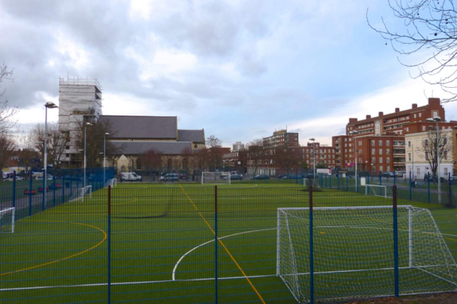 Camden Rhino Turf 5 a side | Astroturf football pitch
