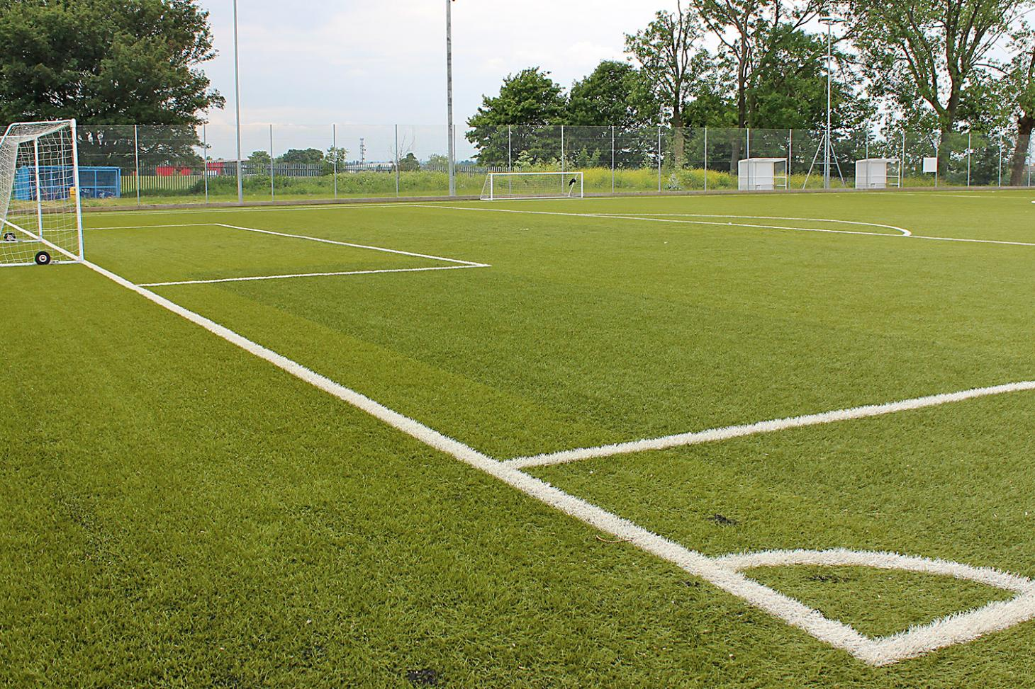 Harris Academy Purley 7 a side   3G Astroturf football pitch