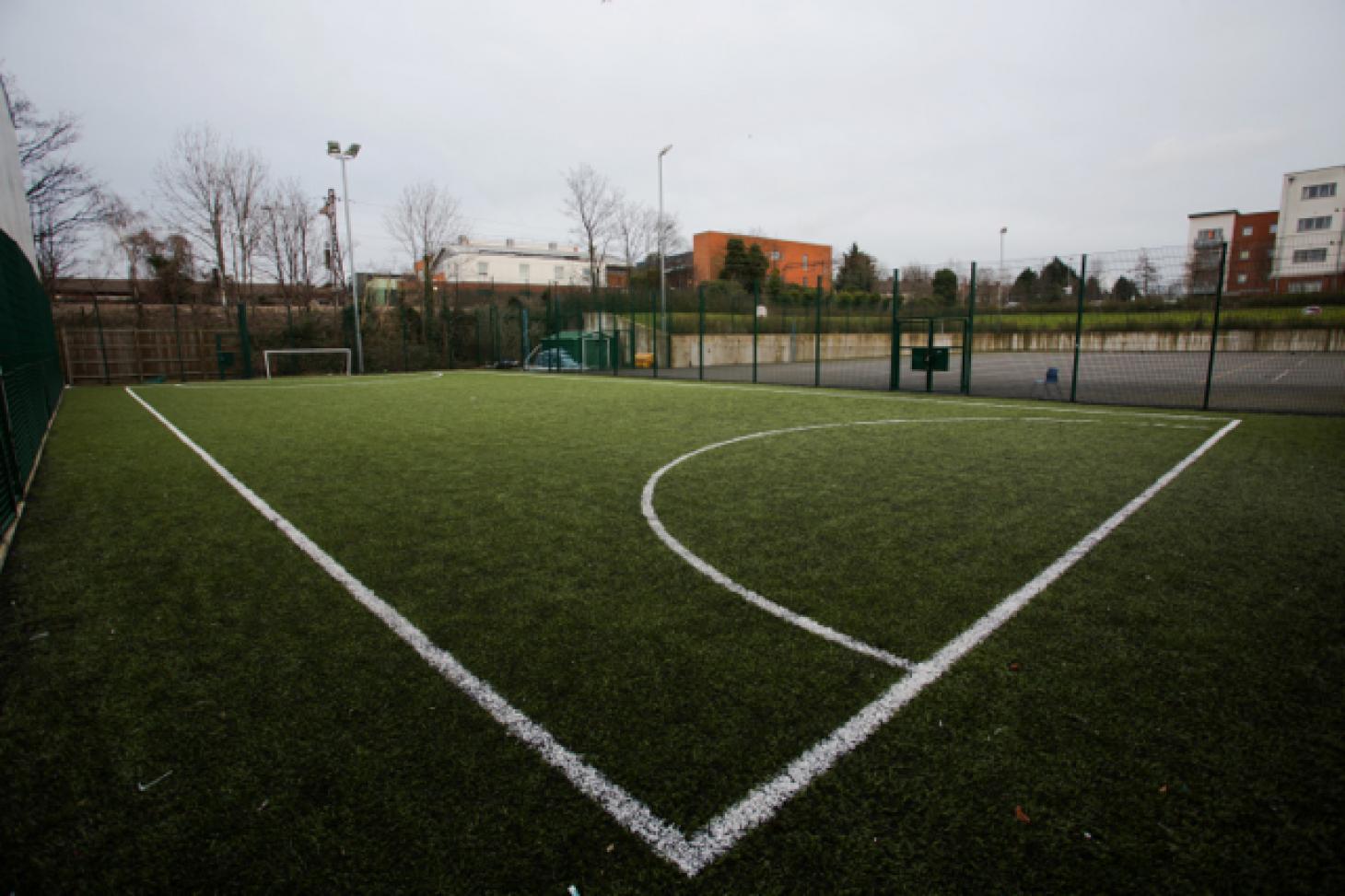 Frederick Bremer School 5 a side   3G Astroturf football pitch