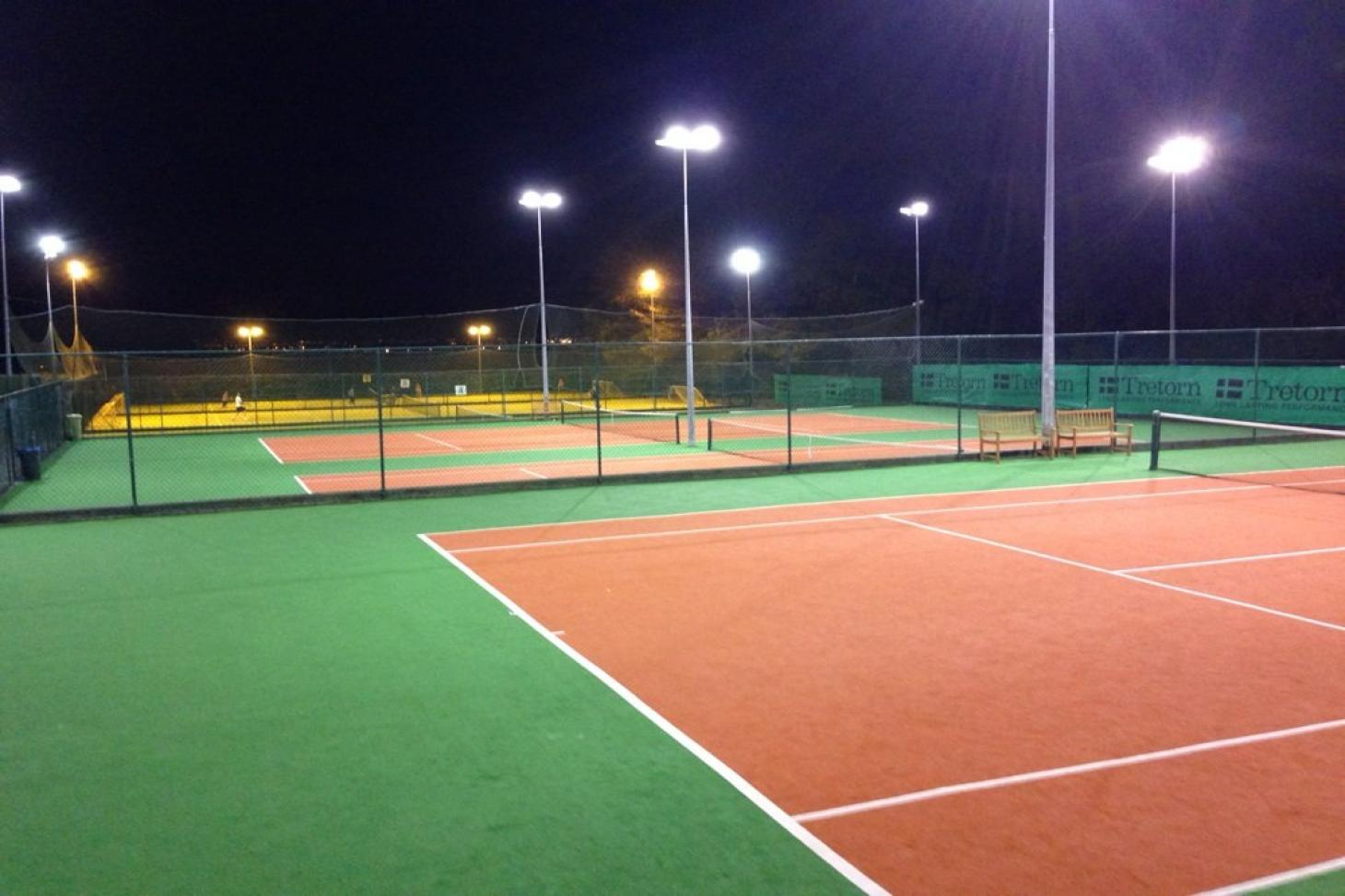 Portmarnock Sports & Leisure Club Outdoor   Astroturf tennis court