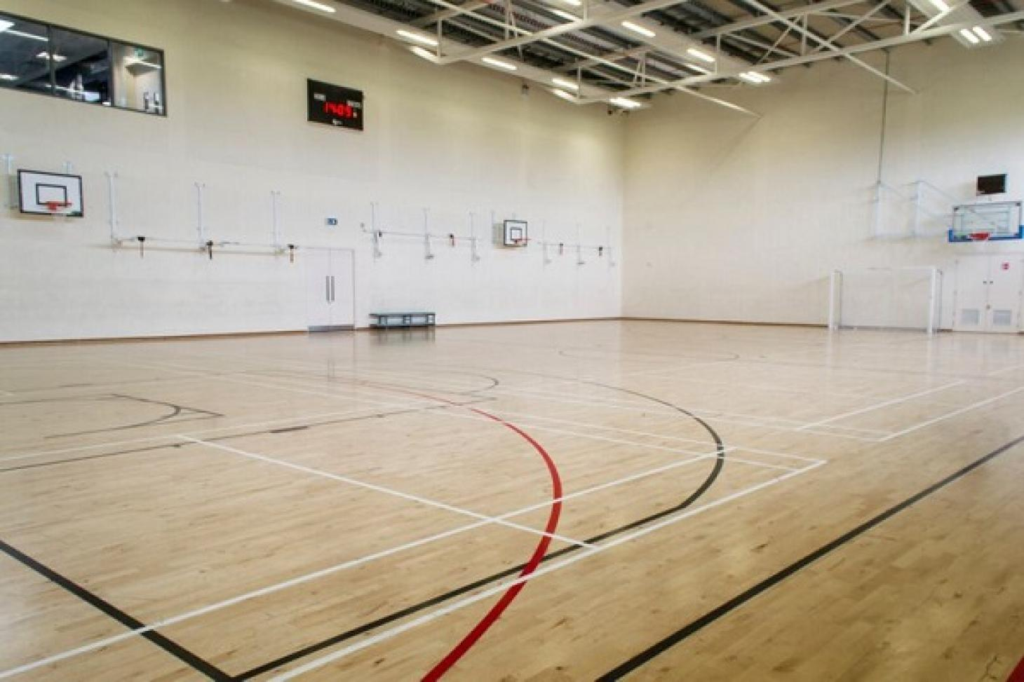 Inspire Fitness Centre Indoor basketball court