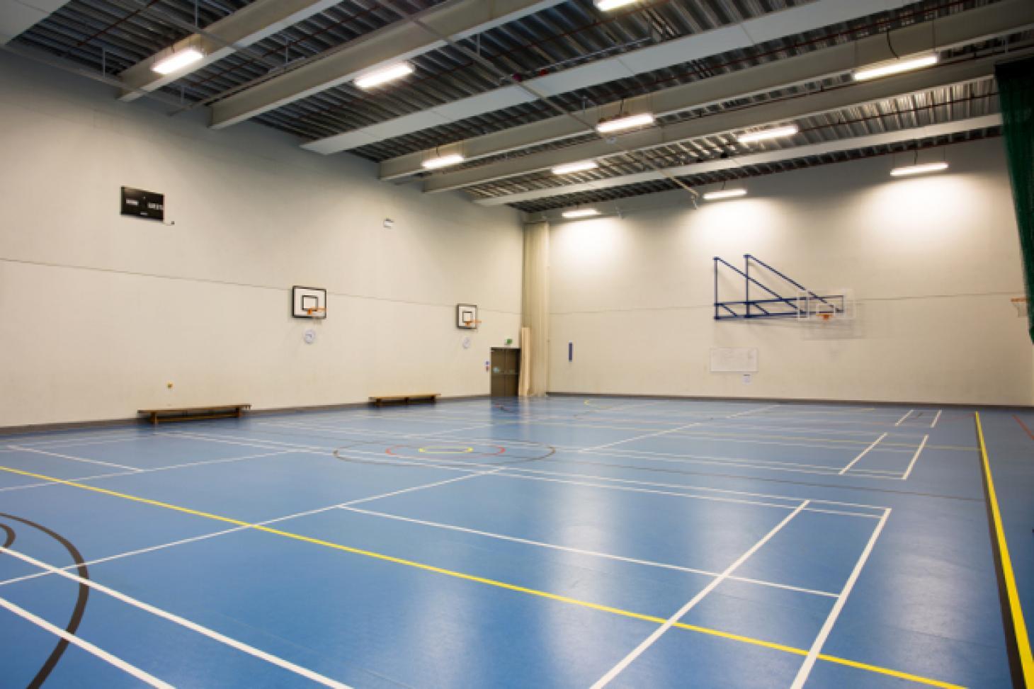 Frederick Bremer School Indoor basketball court