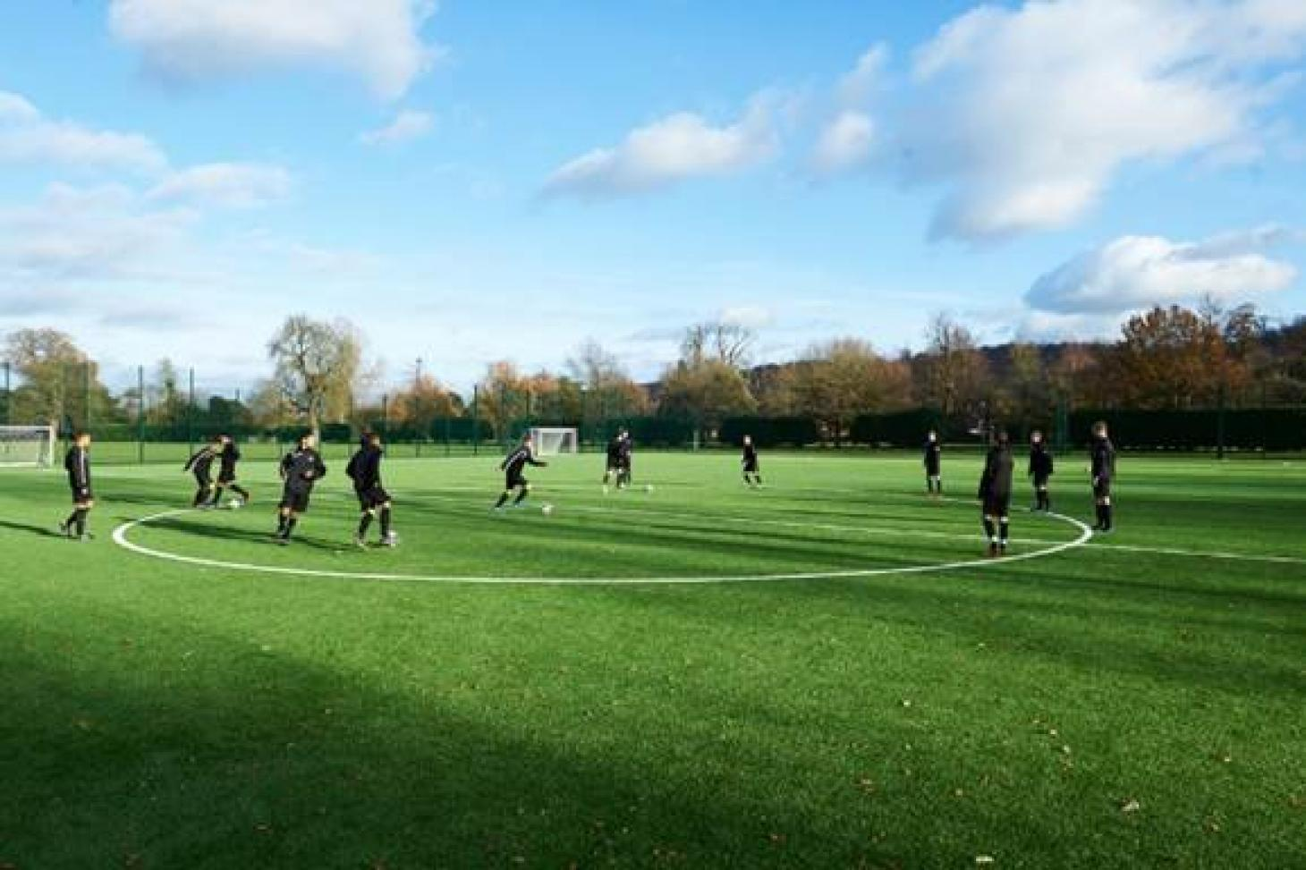 Bisham Abbey National Sports Centre 11 a side   Grass football pitch