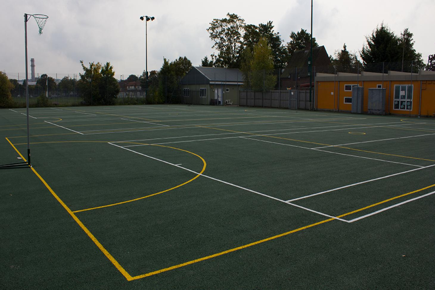 Ark John Keats Academy Outdoor | Hard (macadam) netball court