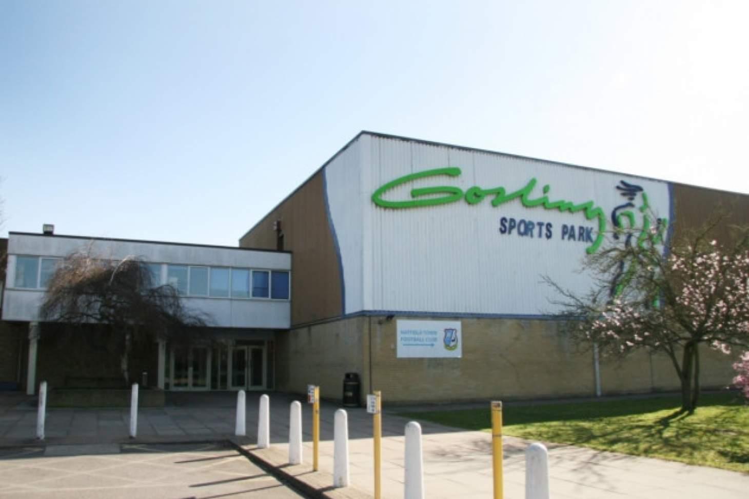 Gosling Sports Park Indoor netball court