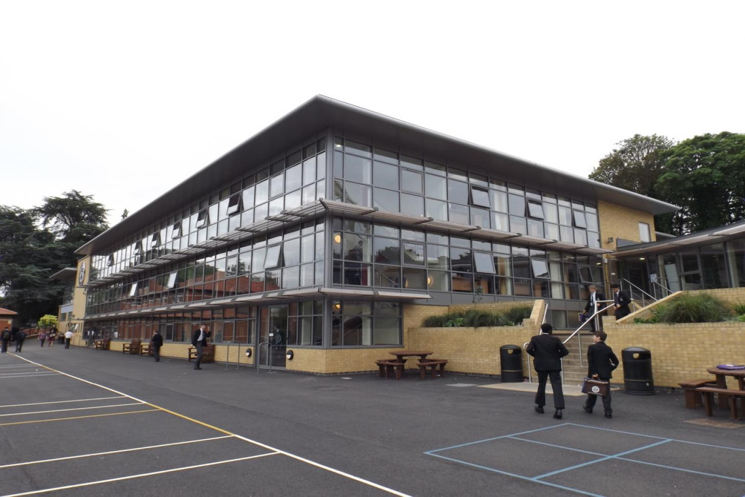 St Columba's College St Albans Indoor netball court