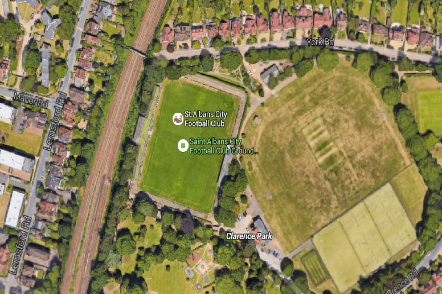Clarence Park Full size | Grass cricket facilities