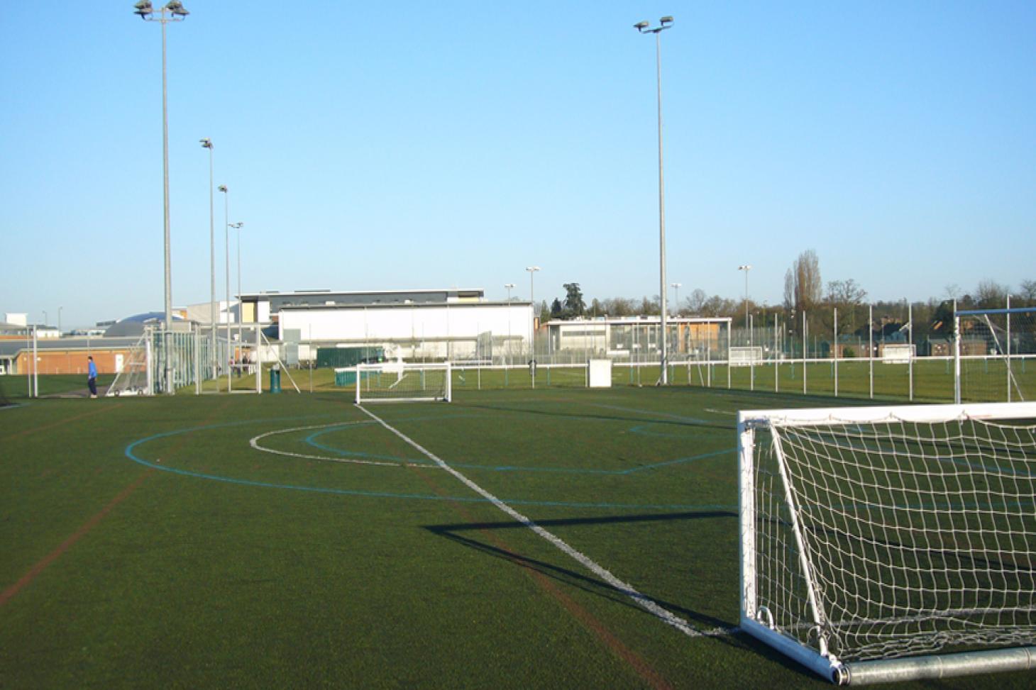 Hertfordshire Sports Village Outdoor   Astroturf hockey pitch