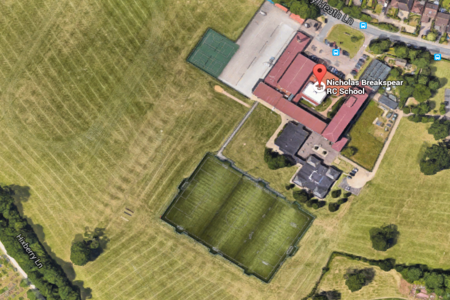 Nicholas Breakspear RC School 11 a side | 3G Astroturf football pitch