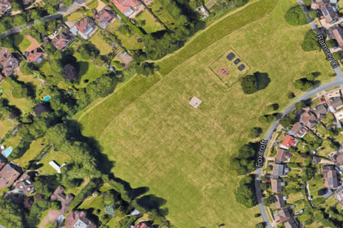 Fox Croft Open Space 11 a side   Grass football pitch