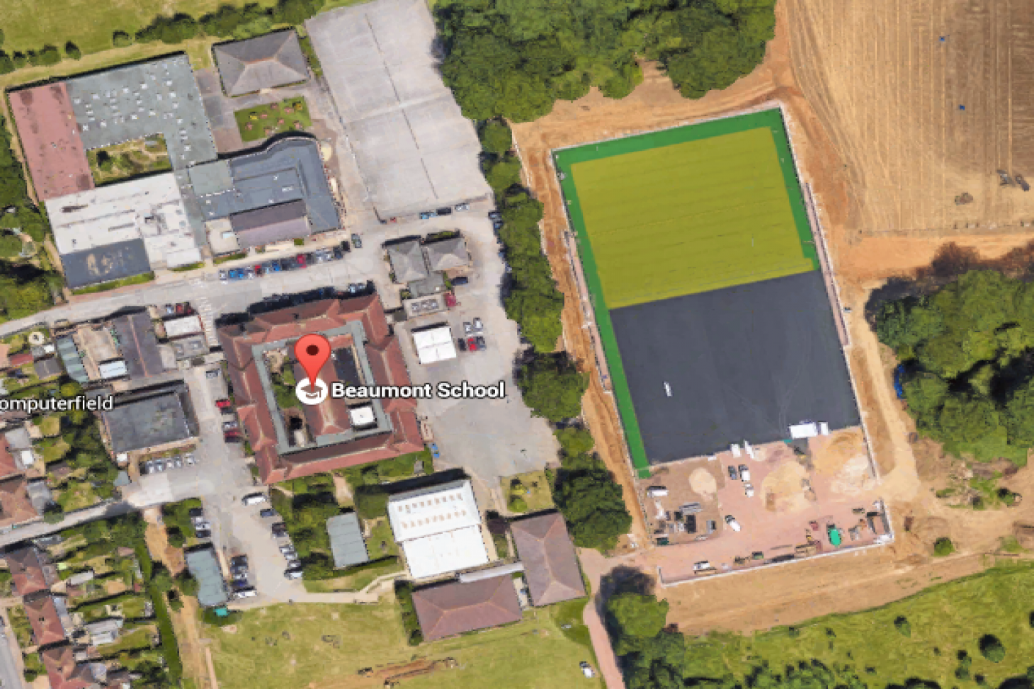 Beaumont School 5 a side | Astroturf football pitch